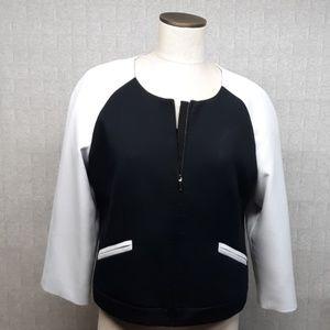 The Limited Black/White Jacket